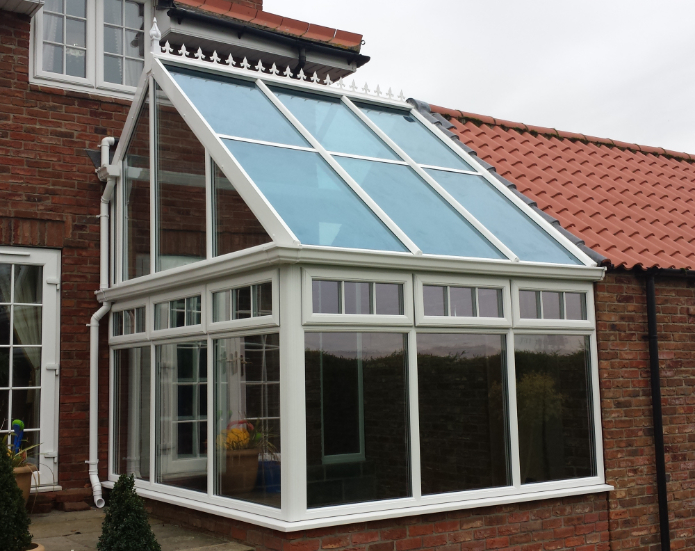 Unusual Style Conservatory.